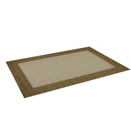 Isla Outdoor Rug 160X230Cm - Natural Brown