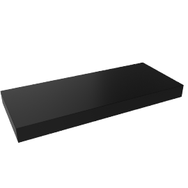 Chicago Shelf 60, High Gloss Black
