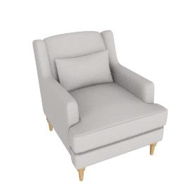 Berwick Armchair, Pier French Grey