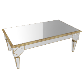 Casablanca Coffee Table, champagne
