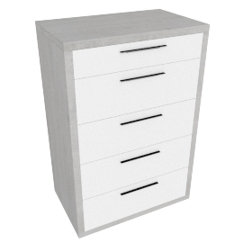 Petra 5-Drawer Chest