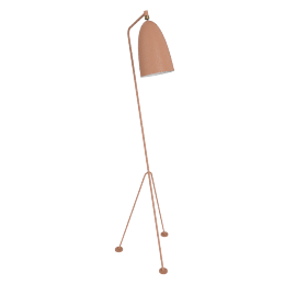 Grasshopper Floor Lamp, Salmon