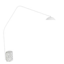 Sten Floor Lamp, Carrara