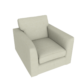 Walton Ii Armchair, Elena Putty