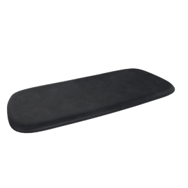 Sculptura Bench Cushion, Black