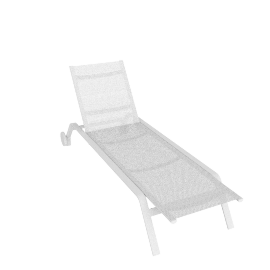 Stack Chaise, White