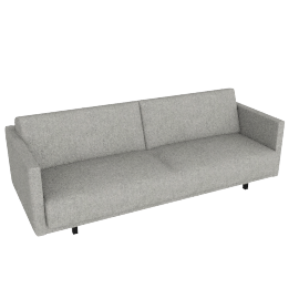 Tuck Sleeper Sofa, Stone, Vision Cotton
