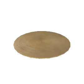 Round Lacquered Placemats, Box of 6