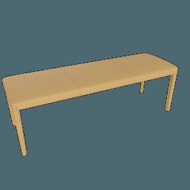 Vella Bench 48'', Buff