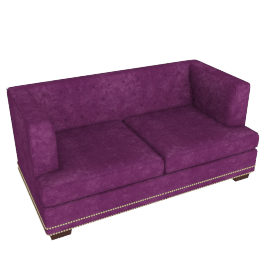 Jasmine 2 Seater Purple
