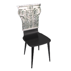 chair collection by fornasetti