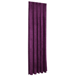 Sheldon Curtain Pair - 140X300Cm - Purple, Purple
