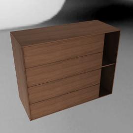 Parallel Wide Dresser