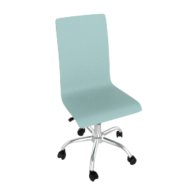Madison Desk Chair, Blue