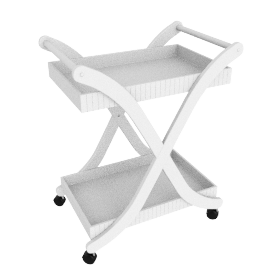 Oxford Trolley, White