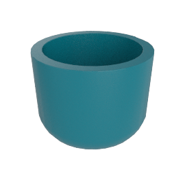 Cup Planter, Large, Abyss