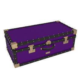 Traditional Hand Trunk, Purple