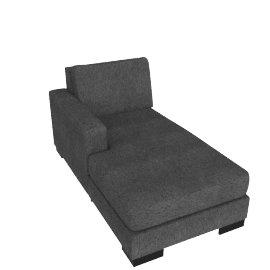 Signature Chaise Left, Grey