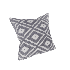Maizon Filled Cushion - 45x45 cms, Grey