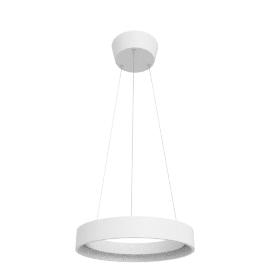 Jorgen LED Hoop Ceiling Pendant, White
