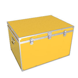 Fortified Jumbo Trunk, Yellow