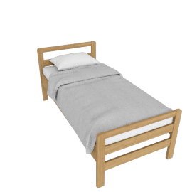 Sierra Guest Bed, Top Bedstead