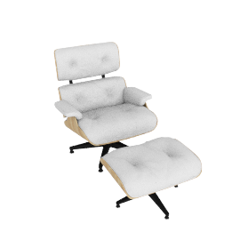 Eames® Lounge and Ottoman