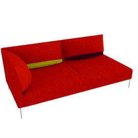 Undercover, modular right sofa