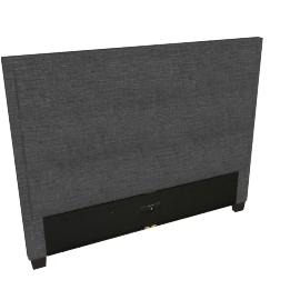 Stellar Ace Queen Headboard, Black