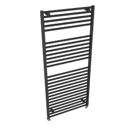 Heated Towel Rail 1652 x 750, anthracite