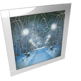 Aspen Mirror Framed Picture