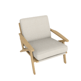 Bergen Chair, Brompton Natural