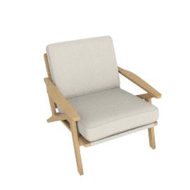 Bergen Chair, Brompton Natural