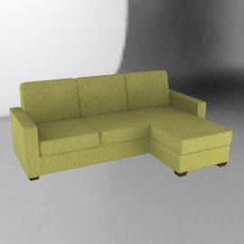 Sacha Platform Bed, Mission Lime / Dark Leg