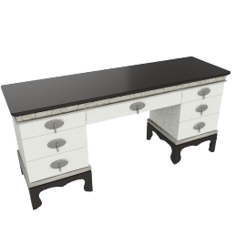 Lorenza 7-Drawer Dressing Table