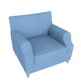 212 Lazy Working Armchair