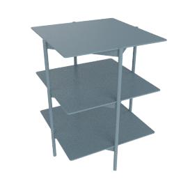 Tier Side Table, Marine