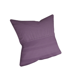 Eternity Cushion Cover - 65x65 cms, Purple