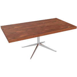 Florence Knoll Executive Desk, Rosewood
