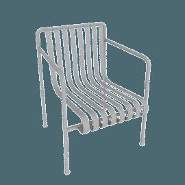 Palissade Dining Armchair, Sky Grey