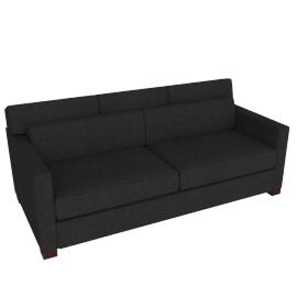 Vesper Queen Sleeper Sofa, Maharam Mode Fabric, Terra