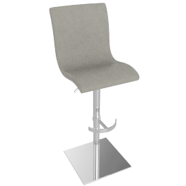 Bellini Bar Stool, Grey