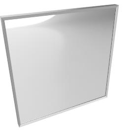 Mondrian Mirrors 22x22