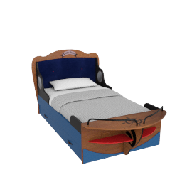 Little Pirate Single Bed