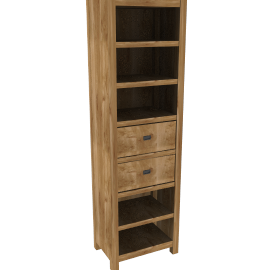 Batamba Narrow Bookcase