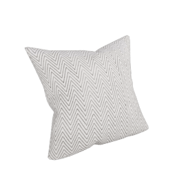 Silk Pillow in Chevron Block - 20x20