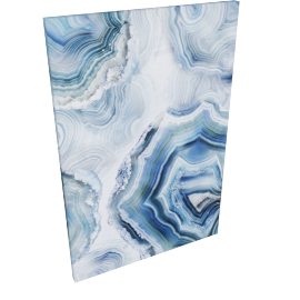 Agate To Beauty Print Canvas 60X2.8X90Cm-Multicolor