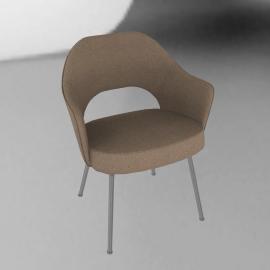 Saarinen Executive Armchair - Metal Legs