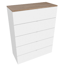 Monza 5-drawer Chest