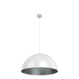 Absinthe Kuba ø50cm, white/silver